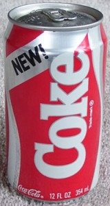 New Coke from 1985