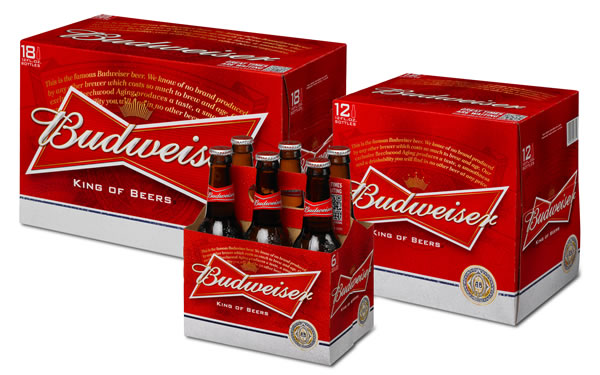 Rebranding Budweiser – New Packaging for the All-American Beer