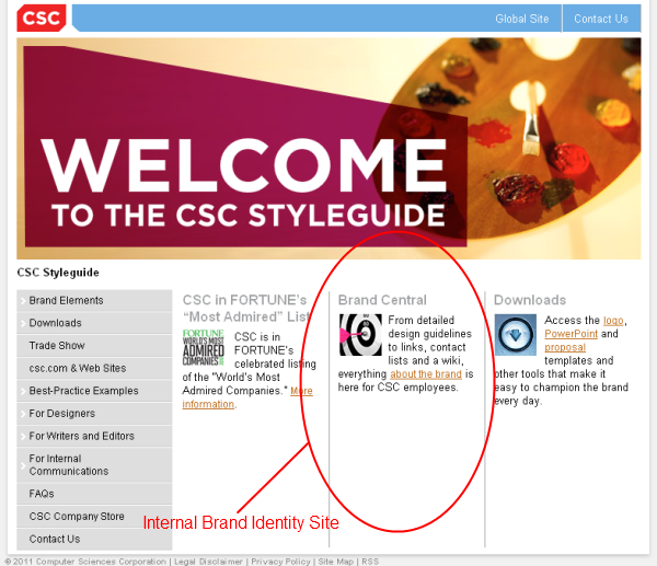 csc brand identity guidelines