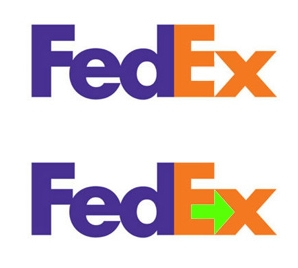 fedex logo arrow
