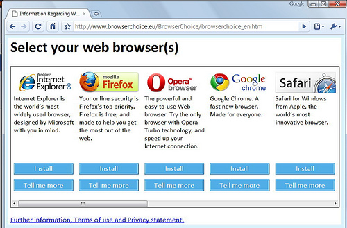 Web Browser Survey: Firefox Still Ahead of Chrome