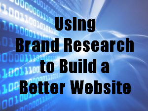 brand research web design