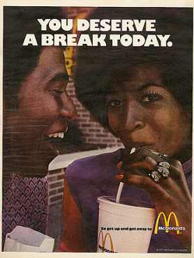 mcdonalds you deserve a break today ad