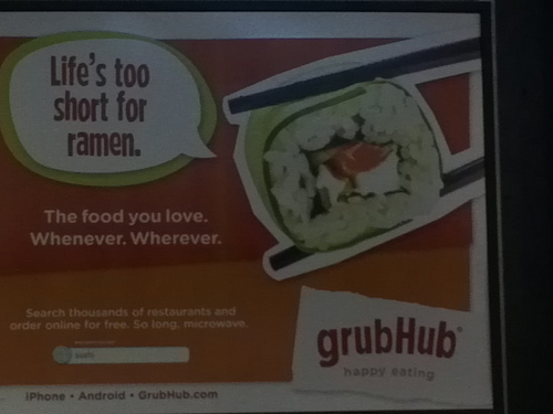 GrubHub Survey: Traditional Ordering Still Most Popular