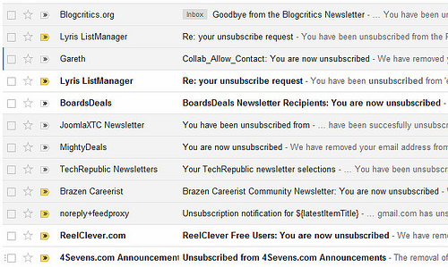 Unsubscribe Button Survey: New Gmail Addition Could Impact Email Marketing
