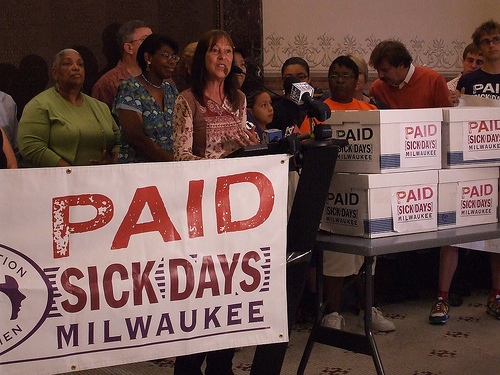 Sick Leave Survey: Most Support Businesses Offering Paid Sick Leave