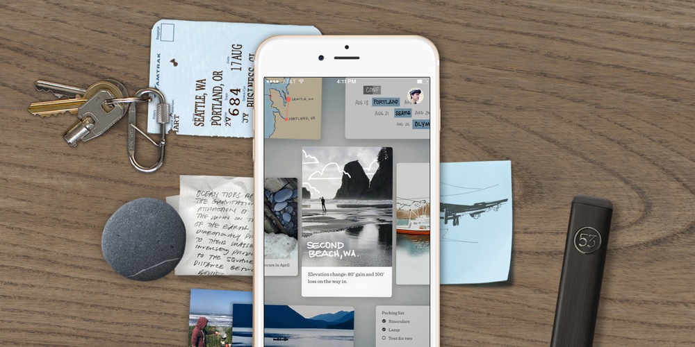 FiftyThree's Paper app optimized for iPhone