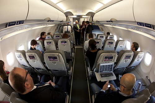 In-Flight WiFi Survey: Nearly Half of Users Satisfied with Service