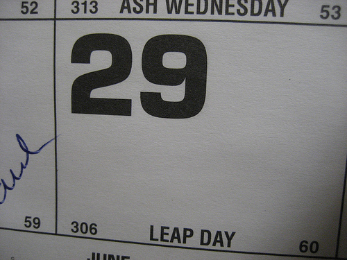 Leap Day Survey: Few Have Plans to Celebrate Leap Day