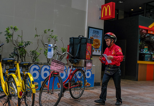 Fast Food Delivery Survey: Ride Sharing Customers Likely to Order