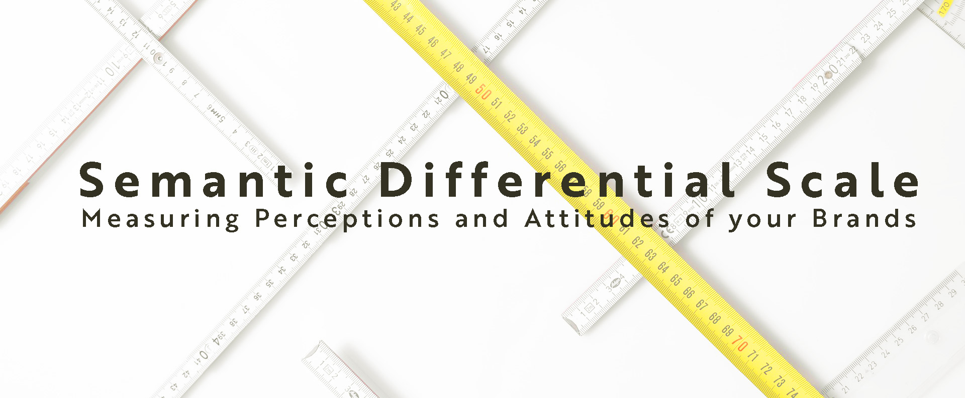 Semantic Differential Scale: Measuring Perceptions and Attitudes of your Brand