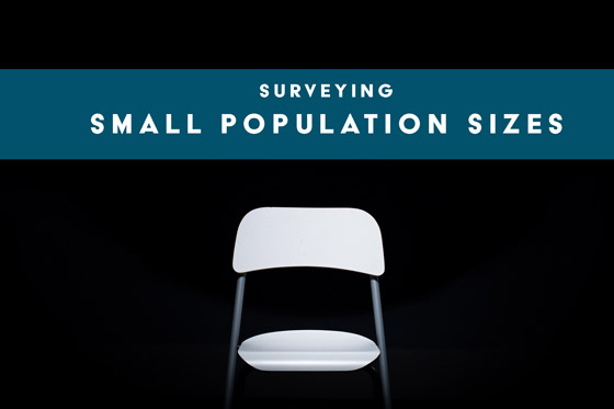 Surveying Small Population Sizes
