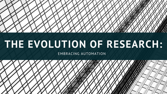 The Evolution of Research: Embracing Automation