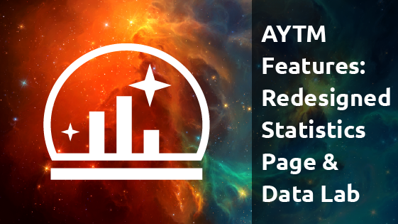 AYTM Features: Redesigned Statistics Page & Data Lab