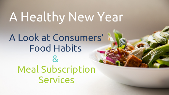 A Healthy New Year: A Look at Consumers' Food Habits & Meal Subscription Services