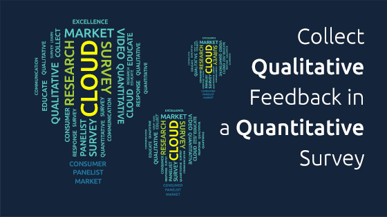 Collect Qualitative Feedback in the Agile Market Research Realm