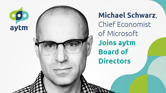 Michael Schwarz, Chief Economist of Microsoft, Joins AYTM Board of Directors