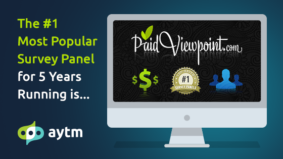 7 Reasons PaidViewpoint was Named the Top Survey Panel for Five Years Running + 5 Reasons Clients Love it Too
