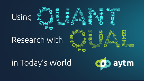 Using Quantitative Research with Qualitative in Today's World