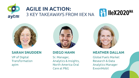 Agile in Action: 3 Takeaways from IIeX 2020