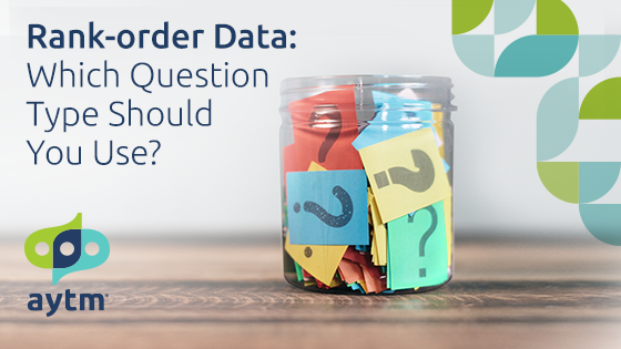 Rank-order Data: Which Question Type Should You Use?