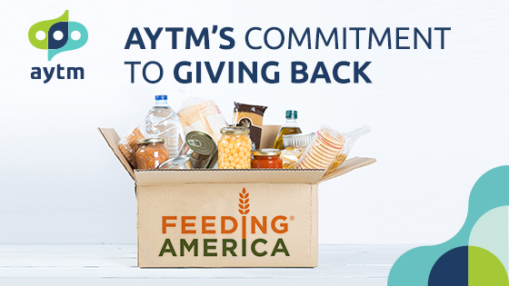 Aytm's Commitment to Giving Back