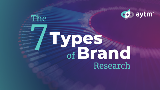 The 7 Types of Brand Research
